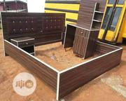 6x6 Bed Frame With Mirror | Home Accessories for sale in Lagos State, Lekki Phase 1