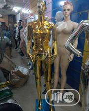 Honey Comb Gold Chrome Female Display Mannequins | Store Equipment for sale in Lagos State, Lagos Island