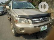 Toyota Highlander Hybrid 2006 Gold | Cars for sale in Lagos State, Lagos Mainland