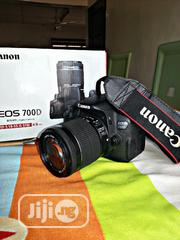 Canon EOS 700D + EF-S 18-55mm Lens + Battery Charger | Photo & Video Cameras for sale in Enugu State, Enugu