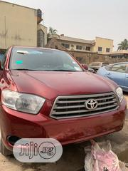 Toyota Highlander 2008 4x4 Red | Cars for sale in Lagos State, Ikeja