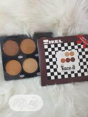 6 Color Powder Pallete, Nude Professional Cosmetic | Makeup for sale in Edo State, Benin City