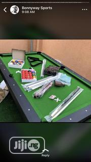 8ft Snooker Board With Complete Accessories | Sports Equipment for sale in Abuja (FCT) State, Dakwo District
