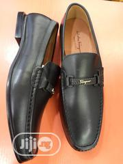 Check Out This Black Ferragamo Men's Shoe. | Shoes for sale in Lagos State, Lagos Island