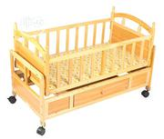 Wooden Baby Bed With Side Drawer And Mosquito Net | Children's Furniture for sale in Lagos State, Ifako-Ijaiye