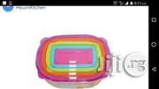 5 In 1 Food Containers | Kitchen & Dining for sale in Lagos State