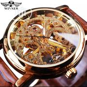 Winner Classic Top Brand Mechanical Skeleton Watch | Watches for sale in Lagos State, Ikeja