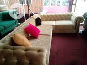 L Shape Chesterfield With Two Arm on Both Sides | Furniture for sale in Lagos State, Ajah