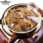 Winner Top Brand Mechanical Skeleton Watch | Watches for sale in Lagos State, Ikeja