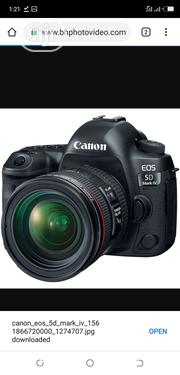 Canon EOS 5D Mark IV DSLR Camera With 24-105mm F/4l Lens | Photo & Video Cameras for sale in Lagos State, Ikeja