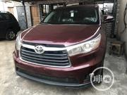 Toyota Highlander 2015 Red   Cars for sale in Lagos State, Surulere