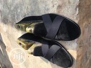 Black Suede Plane Loafer With Cross Belt   Clothing Accessories for sale in Oyo State, Ibadan