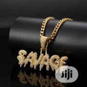 Stainless Steel Gold Plated Chain And Pendant | Jewelry for sale in Lagos State, Surulere