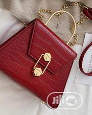 Red Leather Bags | Bags for sale in Lagos State, Orile