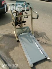 Fairly Used 6-In-1 Multi -Gym 3.5hp DC MOTOR Treadmill. | Sports Equipment for sale in Lagos State, Surulere