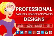 Design A Professional Banner, Header, Facebook, Twitter Or Youtube Cov | Computer & IT Services for sale in Lagos State, Ikeja