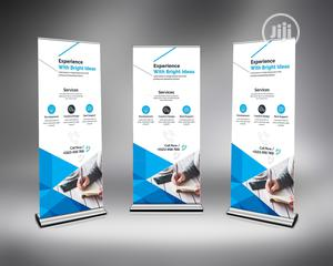Flat Base Rollup Banner Stand
