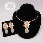Set of Pendant, Earrings and Cord Necklace | Jewelry for sale in Lagos State, Ikotun/Igando