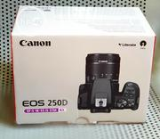 Canon DSLR 4K Camera EOS 250D With 18-55mm Stm | Photo & Video Cameras for sale in Lagos State, Ikeja
