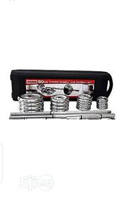 50kg Dumbell Set With Barbell | Sports Equipment for sale in Lagos State, Alimosho