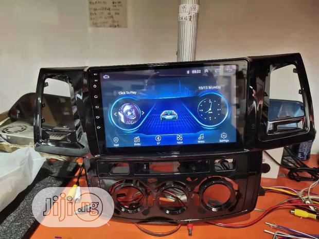 Toyota Hilux Android With Reverse Camera, USB, Bluetooth