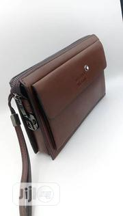 Designer Leather Montblanc Pouch Bag | Bags for sale in Lagos State, Lagos Island