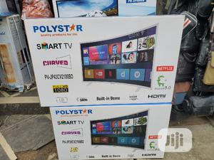 Polystar 43 Inches Curved Smart