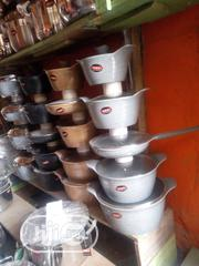 Five in One Non Stick Pot With Frying Pan | Kitchen & Dining for sale in Lagos State, Lagos Island