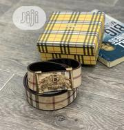 Designer Grade AA Burberry Belt Available In Store | Clothing Accessories for sale in Lagos State, Lagos Island