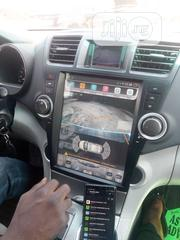 Highlander 08/012 Android DVD With Reverse Camera | Vehicle Parts & Accessories for sale in Lagos State, Mushin