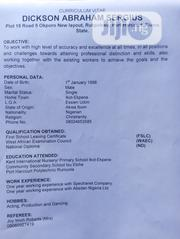 Human Resources CV | Human Resources CVs for sale in Rivers State, Port-Harcourt