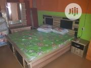 6×6 Bed And Mouka Standard Mattress | Furniture for sale in Lagos State, Ojo