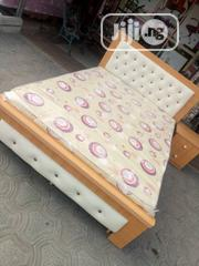 4.5 by 6 Bed Frame With Quality Mouka Foam | Furniture for sale in Lagos State, Ojo