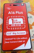 New Itel A16 Plus 8 GB Gray | Mobile Phones for sale in Nyanya, Abuja (FCT) State, Nigeria