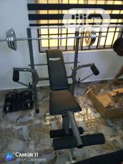 Weight Bench With 50kg Weight | Sports Equipment for sale in Abuja (FCT) State, Central Business District
