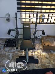 Weight Bench With 50kg Weight | Sports Equipment for sale in Abuja (FCT) State, Garki 1