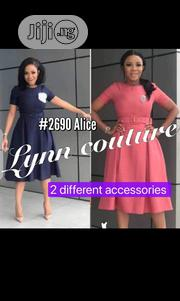 New Classic Female Belt Flare Gown   Clothing Accessories for sale in Lagos State, Oshodi-Isolo