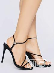 Heeled Sandals (Black)   Shoes for sale in Lagos State, Lagos Mainland