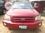 Toyota Highlander 2003 Red | Cars for sale in Rivers State, Port-Harcourt