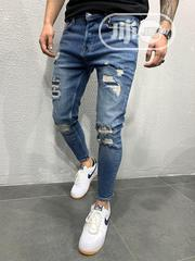 All New Designers Ripped 2020 Jeans | Clothing for sale in Lagos State, Ojo