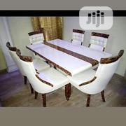 This Classical Marble Dinning Table With Six Chairs | Furniture for sale in Lagos State, Ojo