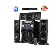 Home Theatre System With Bluetooth + DVD Player Black | Audio & Music Equipment for sale in Abuja (FCT) State, Gwarinpa