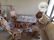Artistic Wooden Table And Chairs Made From Strong Archaic Tree Roots | Furniture for sale in Cross River State, Calabar