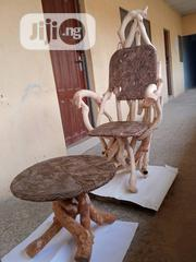 Customized Chairs And Tables Made From Archaic Wood Products | Furniture for sale in Cross River State, Calabar