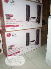 LG DVD 1000w Home Theater AUD 675 BG Built In Bluetooth Bass Blast   Audio & Music Equipment for sale in Lagos State, Ikoyi