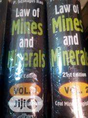 Law Of Mines And Mineral | Books & Games for sale in Lagos State, Surulere