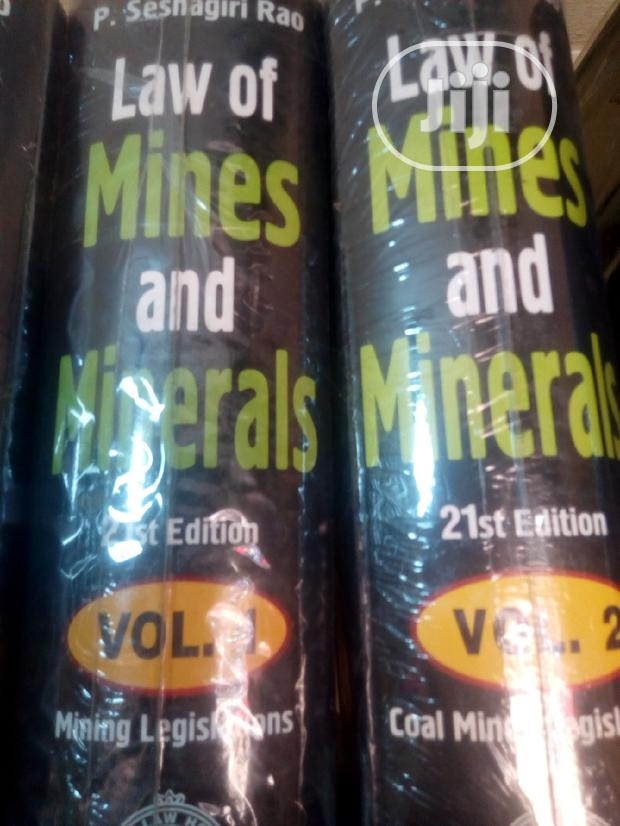 Archive: Law Of Mines And Mineral