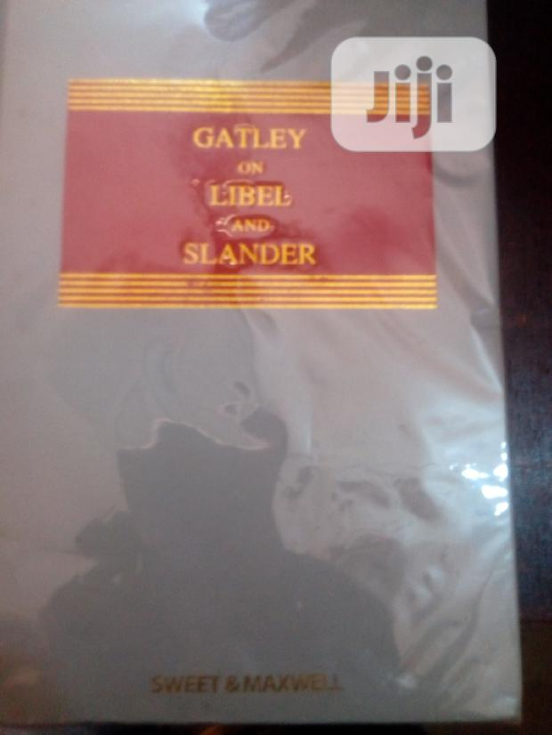 Archive: Hatley On Libel And Slander