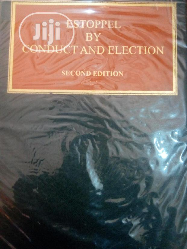 Archive: Estopel By Conduct And Election