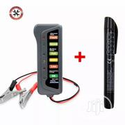 12V Digital Battery Alternator Tester With With Brake Fluid Tester | Vehicle Parts & Accessories for sale in Lagos State, Agege